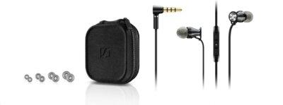 Навушники Sennheiser Momentum in-ear M2 IEG Black Chrome 3