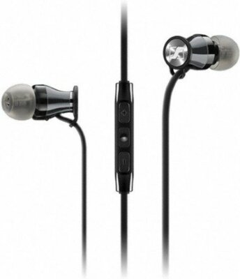 Навушники Sennheiser Momentum in-ear M2 IEi Black Chrome 1