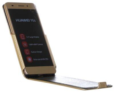 Чехол RedPoint Flip Case для Huawei Y6 II Gold 1
