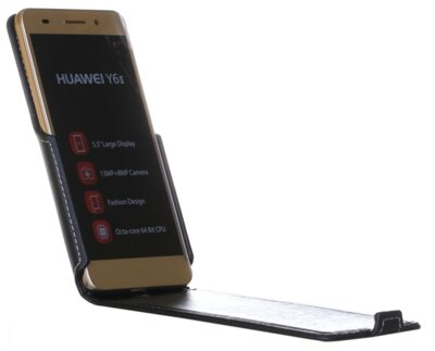 Чехол RedPoint Flip Case для Huawei Y6 II Black 1