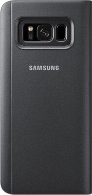 Чехол Samsung Clear View Standing Cover EF-ZG950CBEGRU Black для Galaxy S8 2