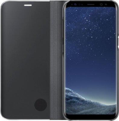 Чехол Samsung Clear View Standing Cover EF-ZG950CBEGRU Black для Galaxy S8 3
