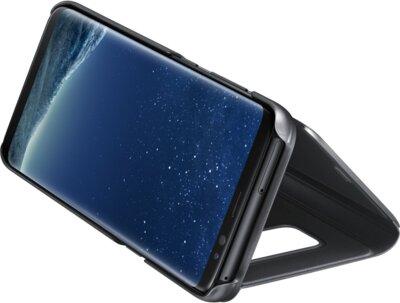 Чехол Samsung Clear View Standing Cover EF-ZG950CBEGRU Black для Galaxy S8 4