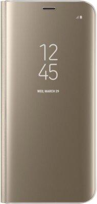 Чехол Samsung Clear View Standing Cover EF-ZG950CFEGRU Gold для Galaxy S8 1