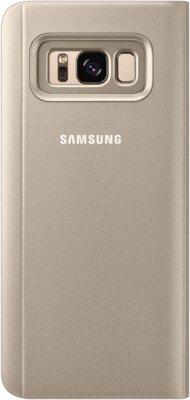 Чехол Samsung Clear View Standing Cover EF-ZG950CFEGRU Gold для Galaxy S8 2