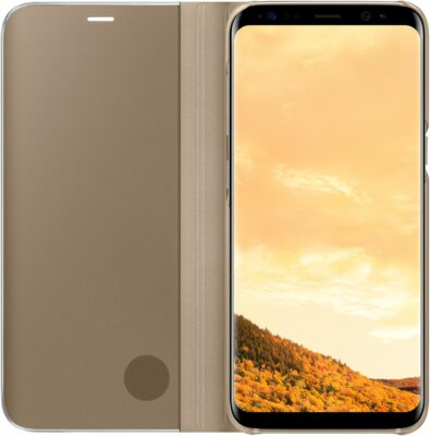 Чехол Samsung Clear View Standing Cover EF-ZG950CFEGRU Gold для Galaxy S8 3