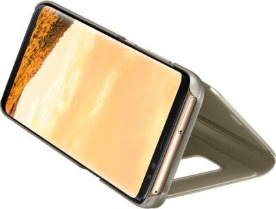 Чехол Samsung Clear View Standing Cover EF-ZG950CFEGRU Gold для Galaxy S8 4