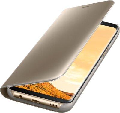 Чехол Samsung Clear View Standing Cover EF-ZG950CFEGRU Gold для Galaxy S8 5