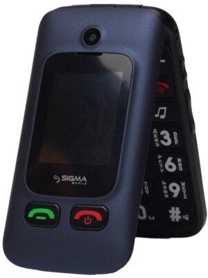 Мобильный телефон Sigma Comfort 50 Shell DUO Blue 1
