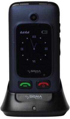 Мобильный телефон Sigma Comfort 50 Shell DUO Blue 7