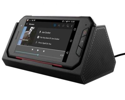 Смартфон Sigma X-treme PQ27 Black + Зарядний кредл-колонка 3