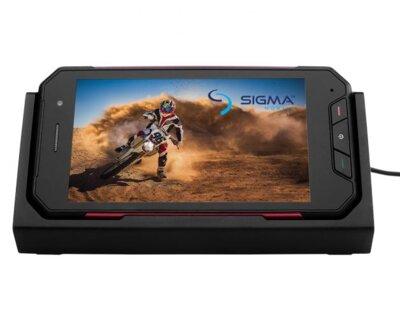 Смартфон Sigma X-treme PQ27 Black + Зарядний кредл-колонка 8