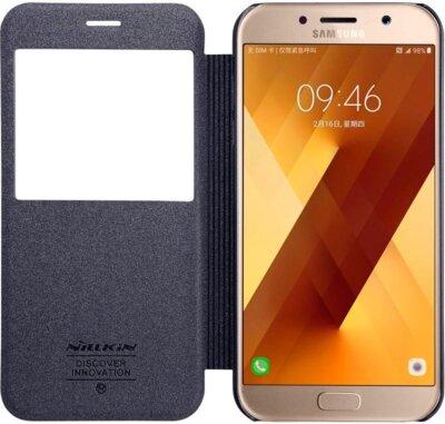 Чохол NILLKIN Samsung A7(2017)/A720 - Spark series (Чорний) 1