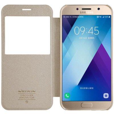 Чохол NILLKIN Samsung A5(2017)/A520 - Spark series (Золотистий) 1