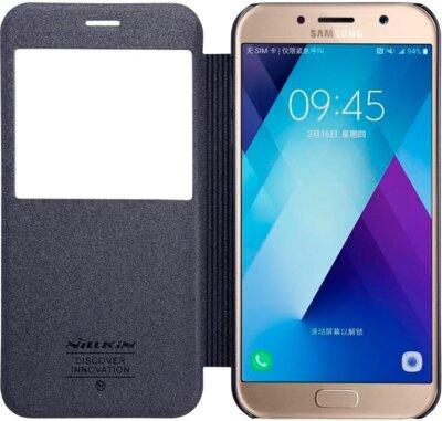 Чехол NILLKIN Samsung A5(2017)/A520 - Spark series (Черный) 4