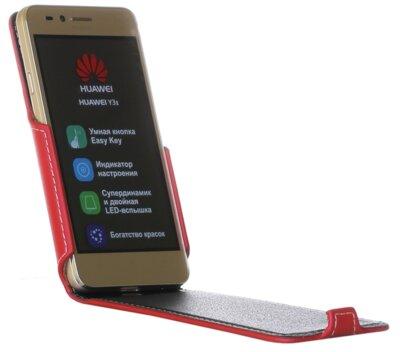 Чехол RedPoint Flip Case для Huawei Y3 II Red 1