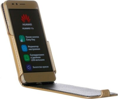 Чехол RedPoint Flip Case для Huawei Y3 II Gold 2