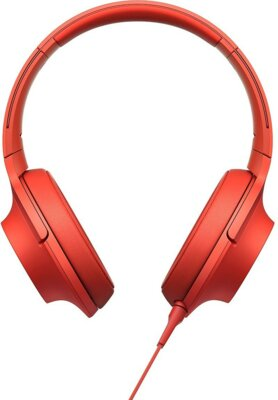 Навушники SONY MDR-100AAP Red 1