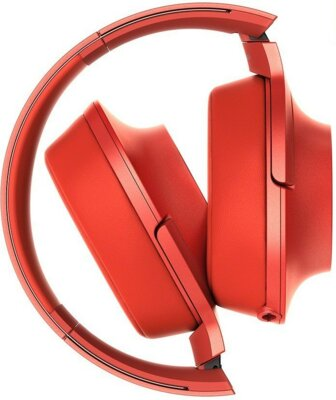 Навушники SONY MDR-100AAP Red 3
