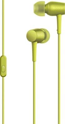 Навушники SONY MDR-EX750AP Yellow 1