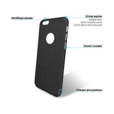 Чехол GlobalCase Cap-X для Apple iPhone 6/6S Black 2