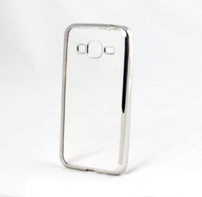 Чехол GlobalCase TPU Electro для Samsung Galaxy J3 (2016) J320 Silver 1