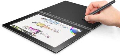 Планшет Lenovo Yoga Book Android YB1-X90L ZA0W0025UA LTE Grey 4
