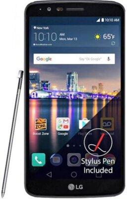 Смартфон LG M400 Stylus 3 Black Blue 1
