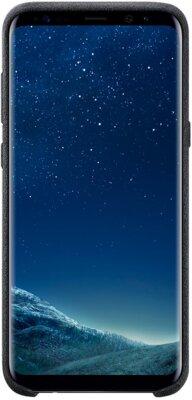 Чехол Samsung Alcantara Cover EF-XG955ASEGRU Gray для Galaxy S8+ G955 1