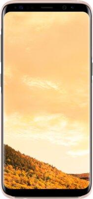Чехол Samsung Clear Cover EF-QG955CPEGRU Pink для Galaxy S8+ G955 1