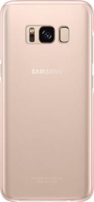 Чехол Samsung Clear Cover EF-QG955CPEGRU Pink для Galaxy S8+ G955 3
