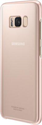 Чехол Samsung Clear Cover EF-QG955CPEGRU Pink для Galaxy S8+ G955 4