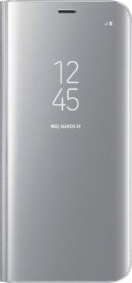 Чехол Samsung Clear View Standing Cover EF-ZG955CSEGRU Silver для Galaxy S8+ G955 1