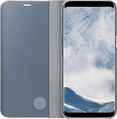 Чехол Samsung Clear View Standing Cover EF-ZG955CSEGRU Silver для Galaxy S8+ G955 2