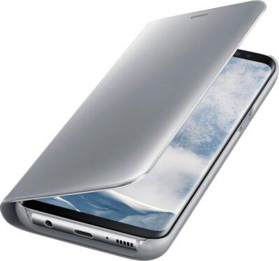 Чехол Samsung Clear View Standing Cover EF-ZG955CSEGRU Silver для Galaxy S8+ G955 3