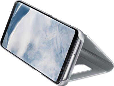 Чехол Samsung Clear View Standing Cover EF-ZG955CSEGRU Silver для Galaxy S8+ G955 4
