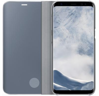 Чохол Samsung Clear View Standing Cover EF-ZG950CSEGRU Silver для Galaxy S8 G950 2