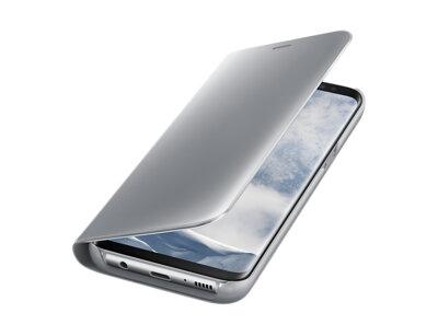 Чохол Samsung Clear View Standing Cover EF-ZG950CSEGRU Silver для Galaxy S8 G950 3