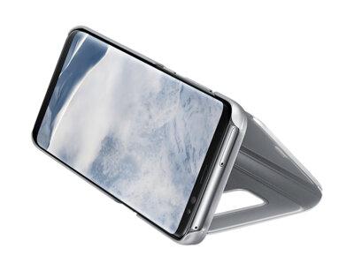 Чохол Samsung Clear View Standing Cover EF-ZG950CSEGRU Silver для Galaxy S8 G950 4