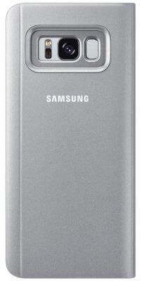 Чохол Samsung Clear View Standing Cover EF-ZG950CSEGRU Silver для Galaxy S8 G950 5