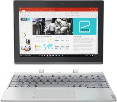 Планшет Lenovo Miix 320 Wi-Fi 64GB (80XF007FRA) Platinum Silver 1