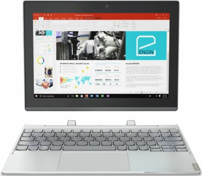 Планшет Lenovo Miix 320 Wi-Fi 128GB (80XF0078RA) Platinum Silver 1