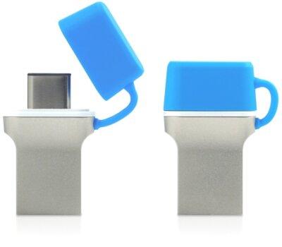 USB flash накопичувач GOODRAM ODD3 16GB USB 3.0 Type-C BLUE 3