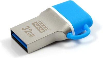 USB flash накопитель GOODRAM ODD3 32GB USB 3.0 Type-C BLUE 1