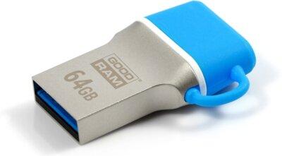 USB flash накопичувач GOODRAM ODD3 64GB USB 3.0 Type-C BLUE 1