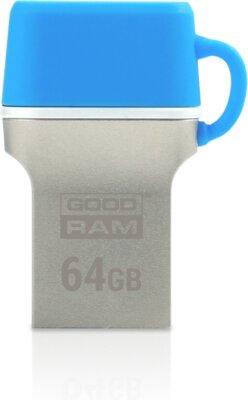 USB flash накопичувач GOODRAM ODD3 64GB USB 3.0 Type-C BLUE 4