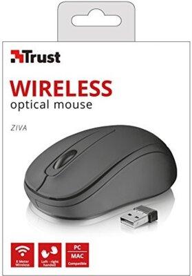 Миша TRUST Ziva wireless compact mouse 21509 Black 5