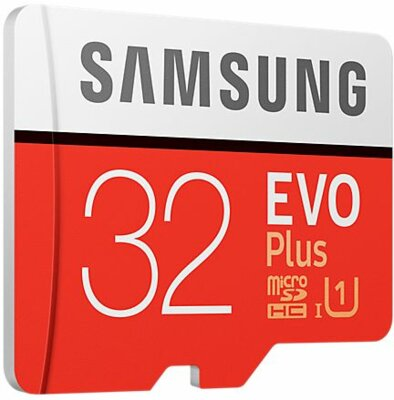 Карта памяти microSDHC 32GB Samsung EVO Plus Class 10 UHS-I U1 MB-MC32GA/RU 2