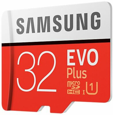 Карта памяти microSDHC 32GB Samsung EVO Plus Class 10 UHS-I U1 MB-MC32GA/RU 3