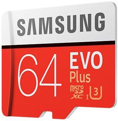 Карта пам'яті microSDXC 64GB Samsung EVO Plus Class 10 UHS-I U3 MB-MC64GA/RU 3